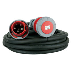 Extension Cable, 3 x 63A 380V 25 m/5 x 10 mm2
