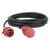 Extension Cable, 3x 32A 380V 10 m/5 x 4 mm2