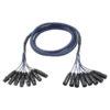 FL60 - 8 XLR/M 3 p. > 8 XLR/F 3 p. 3 m