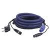 FP06 - Schuko/XLR M - Powercon/XLR F Cavo di alimentazione/segnale LUCE da 20 m