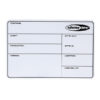 Flightcase Label SHOWTEC, magnetico con nastro 3M + pennarello