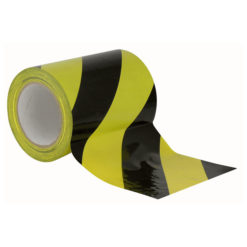 Floor-Marking tape 150 mm Nero/Giallo, 150mm / 33m