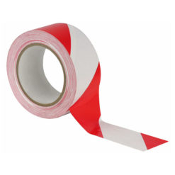 Floor-Marking tape 50 mm Rosso/Bianco, 50mm / 33m