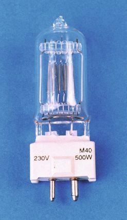 GE M40 240V/500W GY-9.5 2000h