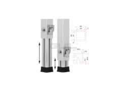 GUIL PTA-440/70-120 Telescopic Foot