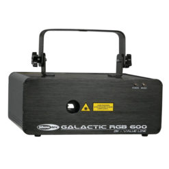 Galactic RGB600 Value Line 600mW Laser Rosso, Verde Blu
