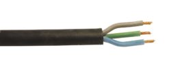 HELUKABEL Power Cable 3x1.5 25m bk Silicone H05SS-F