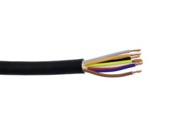 HELUKABEL Speaker cable 8x2.5 50m bk durable