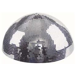 Half-mirrorball 40 cm Semisfera specchiata da 40 cm per montaggio su pareti e soffitto con motore