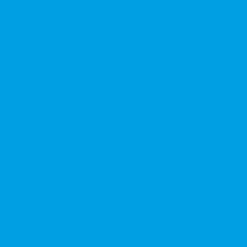 Handheld confetti cannon 50cm, Azzurro chiaro