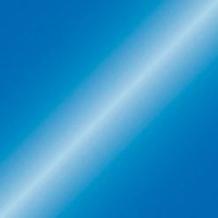 Handheld confetti cannon 50cm, Blu metallico