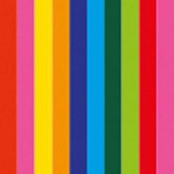 Handheld confetti cannon 50cm, Multicolore