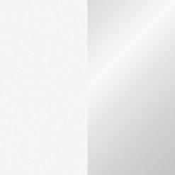 Handheld confetti cannon Small 28cm, Bianco/Argento