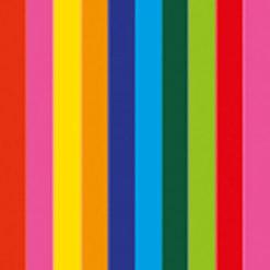 Handheld confetti cannon Small 28cm, Multicolore