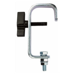 Heavy Duty Pipe Clamp Argento