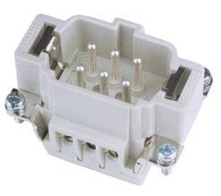 ILME Plug Insert 6-pin 16A, Screw Terminal