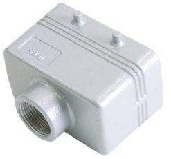 ILME Socket Casing for 10-pin, PG 16, straight