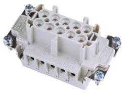 ILME Socket Insert 10-pin 16A, Screw Terminal