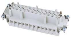 ILME Socket Insert 24-pin 16A,Screw Terminal