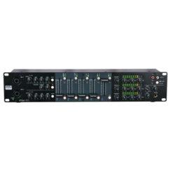 IMIX-7.1 Mixer installazione 2U 7 canali, 3 uscite