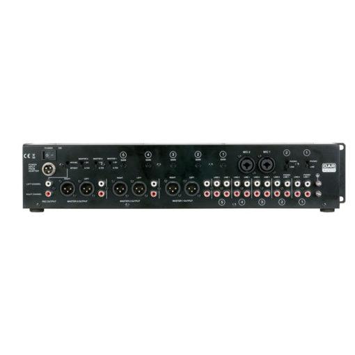 IMIX-7.3 Mixer installazione 2U 7 canali, 3 zone