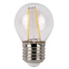 LED Bulb Clear WW E27 2W, non regolabile con dimmer