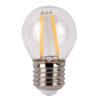 LED Bulb Clear WW E27 3W, non regolabile con dimmer