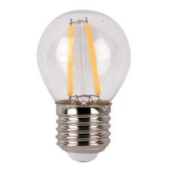LED Bulb Clear WW E27 3W, non regolabile con dimmer