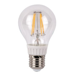 LED Bulb Clear WW E27 4W, regolabile con dimmer