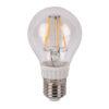 LED Bulb Clear WW E27 6W, regolabile con dimmer