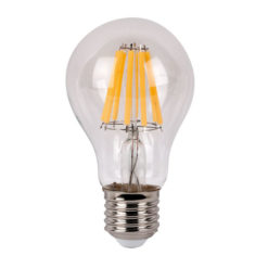 LED Bulb Clear WW E27 8W, non regolabile con dimmer
