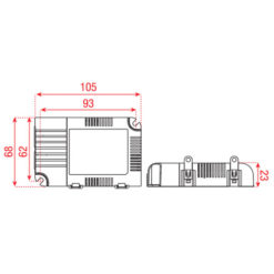 LED Driver Universal 25 W