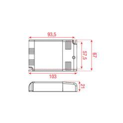 LED Driver Universal 9 - 32 W