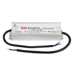 LED Power Supply 100 W 24 VDC HLG-100H-24