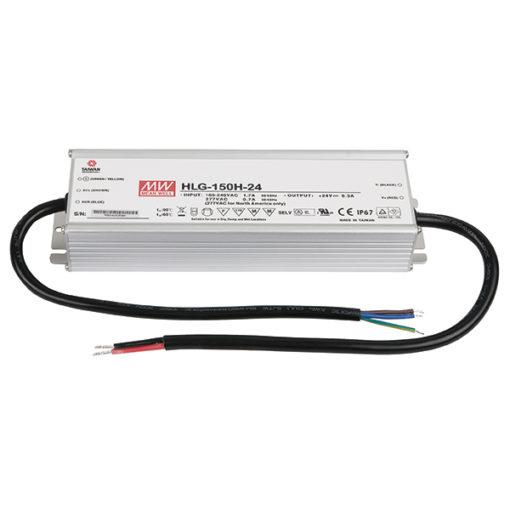 LED Power Supply 150 W 24 VDC HLG-150H-24