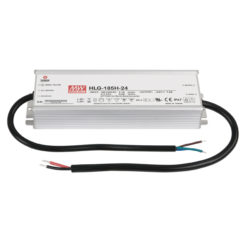 LED Power Supply 185 W 24 VDC HLG-185H-24