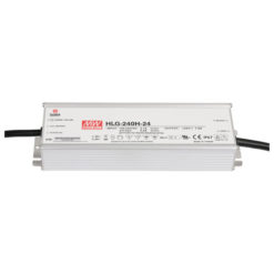 LED Power Supply 240 W 24 VDC HLG-240H-24
