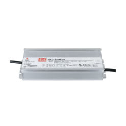 LED Power Supply 320 W 24 VDC MEAN WELL HLG-320H-24