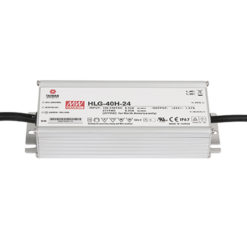 LED Power Supply 40 W 24 VDC HLG-40H-24