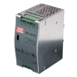 LED Power Supply Dinrail 120 W 24 VDC DRP-120 24V 120W