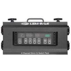 Lightbrick Pack dimming DMX a 4 canali