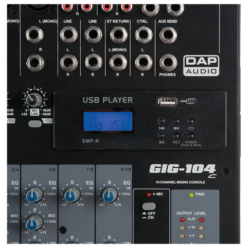MP3 USB record module for GIG