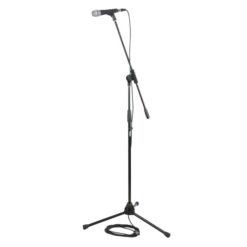 MS-4 Professional Microphone Kit Compreso microfono, asta, gancio, cavo, sacca