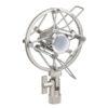 Microphone holder 22-24 mm installazione anti urti grigia