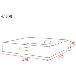 Multiflex case Top insert Inserto superiore baule Multiflex