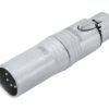 NEUTRIK Adapter 3pin XLR(F)/5pin XLR(M) NA3F5M