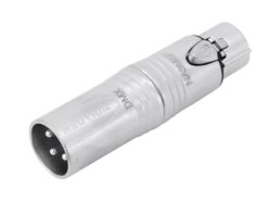 NEUTRIK Adapter 3pin XLR(M)/5pin XLR(F) NA3M5F