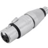 NEUTRIK Adapter XLR(F)/RCA(M) NA2FPMM