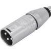 NEUTRIK Adapter XLR(M)/RCA(F) NA2MPMF
