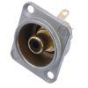 NEUTRIK RCA mounting socket bk NF2D0